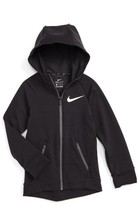 Nike Boy's Dri-Fit Hyper Fleece Hoodie