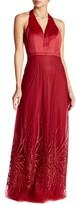 Minuet Long Sequin Hem Dress