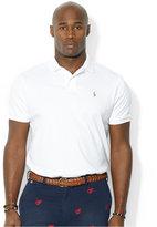 Polo Ralph Lauren Men's Big and Tall Pima Soft-Touch Interlock Polo