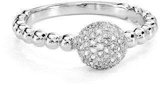 Bloomingdale's Marc & Marcella Diamond Round Ring in Sterling Silver, 0.22 ct. t.w. - 100% Exclusive