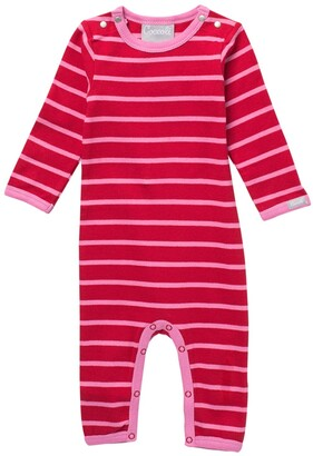 Coccoli Striped Long Sleeve Bodysuit