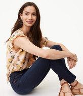 LOFT Modern Skinny Jeans in Dark Indigo