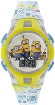 Character Minions Kids Flashing Digital Watch