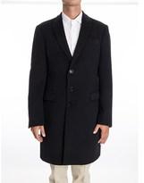 Giorgio Armani Men's Blue Wool Coat.