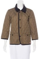 Hunter Boys' Quilted Water Resistant Jacket