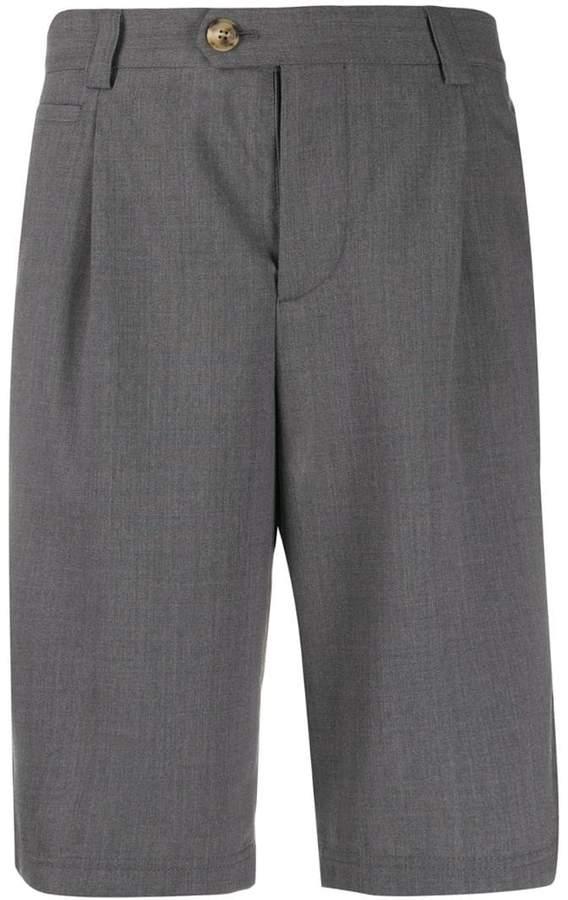 Brunello Cucinelli knee-high bermuda shorts