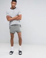 Asos Runner Shorts In Super Short Length