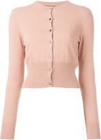 N.Peal cashmere cropped cardigan - women - Cashmere - XL