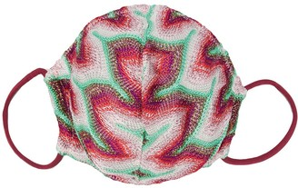 Missoni Abstract Print Face Mask