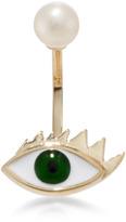 Delfina Delettrez Gold Eye Piercing Earring