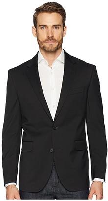 Dockers Regular Fit Stretch Suit Separate Blazer (Black) Men's Jacket