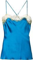 Gilda & Pearl - Gina camisole - women - Silk/Nylon/Polyethylene/Rayon - XS