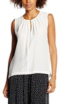 Jacques Britt Women's Regular fit Sleeveless Blouse - Beige -