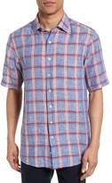 Rodd & Gunn Men's Gimmerburn Check Linen Blend Sport Shirt
