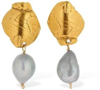 Alighieri Shadow & Pearl Earrings