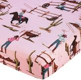 Sweet Jojo Designs Cowgirl Fitted Crib Sheet in Cowgirl Print