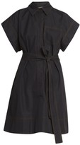 Givenchy Belted Collared Shirtdress
