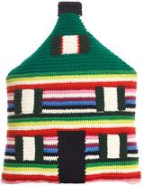 Anne Claire Crochet House Cushion - 35x25cm - Mix Stripe