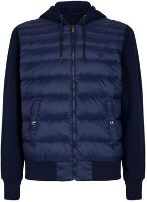 Polo Ralph Lauren Quilted Front Hooded Sweater