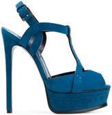 Casadei T-bar platform sandals