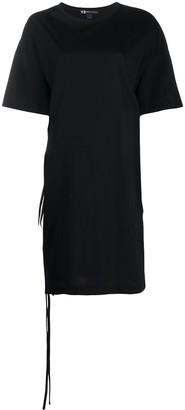 Y-3 oversized side slit T-shirt