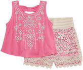 Knitworks Knit Works 2-pc. Short Set Girls