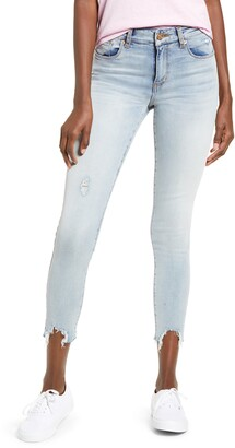 STS Blue Eillie High Waist Destroyed Hem Skinny Jeans