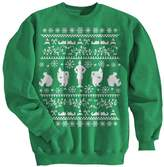 Ripple Junction Elf Christmas Sweater Adult Sweatshirt