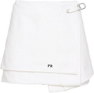 Prada Rush Stitch Miniskirt