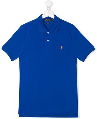 Ralph Lauren Kids TEEN logo polo shirt