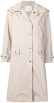 MACKINTOSH hooded rain coat