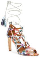 Elie Tahari Hurricane Leather Sandals