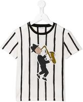 Dolce & Gabbana 'Jazz' striped T-shirt - kids - Cotton - 8 yrs