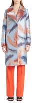 Emilio Pucci Feather Brocade Coat