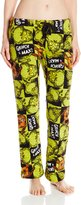 MJC Women's Grinch Plush Pajama Pants
