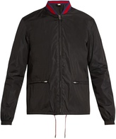 Gucci Snake-print lightweight bomber jacket