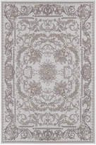 "Couristan Indoor/Outdoor Area Rug, Dolce 4079/7475 Messina Sky Blue/Grey 8'1"" x 11'2"""