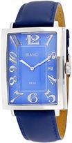 Roberto Bianci Mens Blue Bracelet Watch-Rb00300