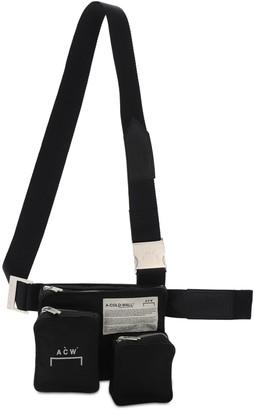 A-Cold-Wall* Logo Print Nylon Bag W/ Multipockets