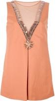 Moschino embellished tunic