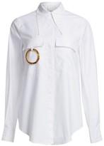 Acler Alameda Ring Cotton Shirt