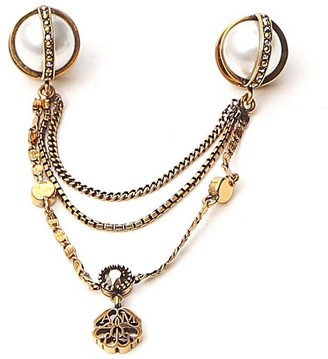 Alexander McQueen Embellished Brooch