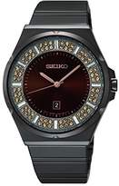 Seiko Women's SXDG35 Analog Display Japanese Quartz Brown Watch