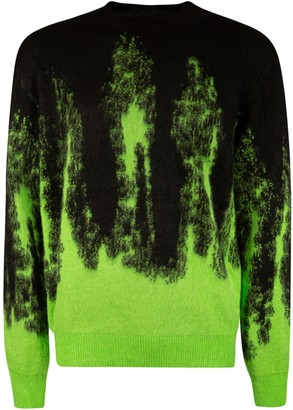 MSGM Flame Sweater