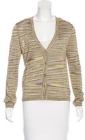 Missoni Metallic Striped Cardigan