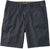 L.L. Bean Men's Stonecoast Khaki Shorts, Classic Fit Print