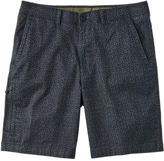 L.L. Bean L.L.Bean Men's Stonecoast Khaki Shorts, Classic Fit Print