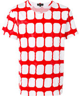 Comme des Garcons geometric T-shirt - men - Cotton - S