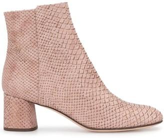 AGL Crocodile Texture Boots