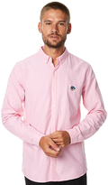 Stussy Oxford Drop Ls Mens Shirt Pink